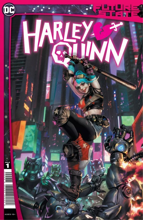 SYNOPSIS:    In a bold move that rocks Gotham City, the Magistrate has imprisoned Harley Quinn! The villain—once known as the Scarecrow, now a pawn of the Magistrate—taps into Harley's knowledge of Gotham's villains and the Black Mask Gang for his own dark purposes. Crane and his bosses think they have Harley Quinn defeated and her spirit broken, but they are sorely mistaken—and Harley will have her revenge. Written by rising star writer Stephanie Phillips and drawn by fan-favorite artist Simone Di Meo, the next era of Harley Quinn begins here!