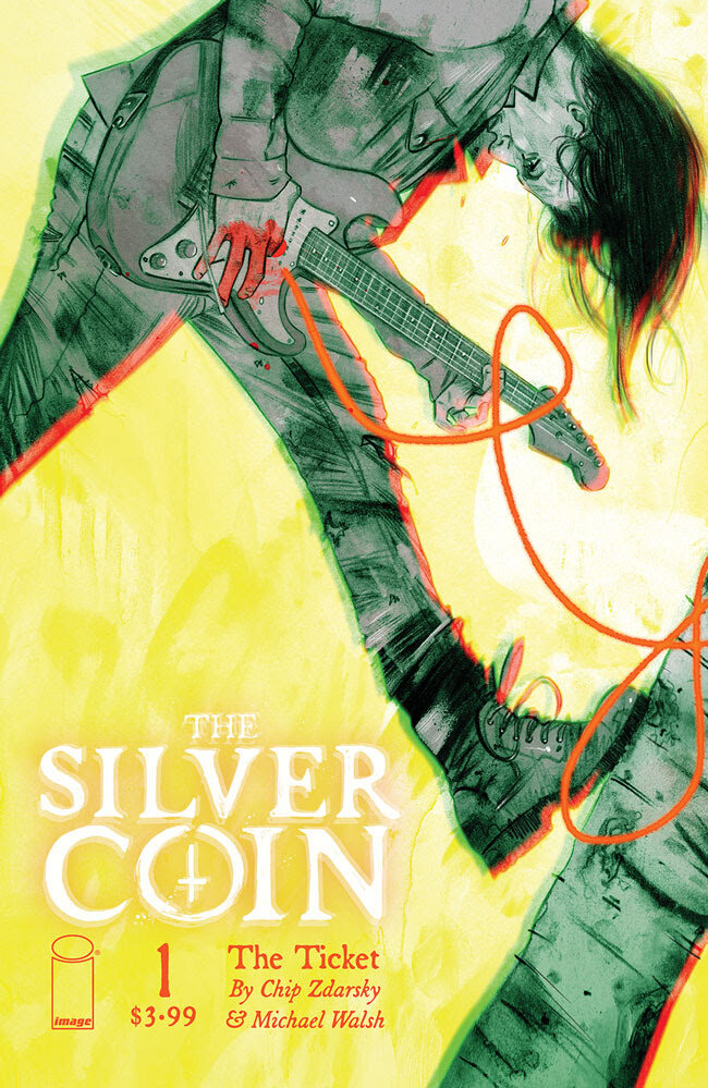 The Silver Coin #1  Cover B by Tula Lotay,