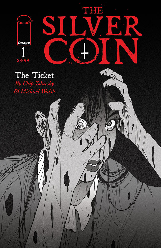 The Silver Coin #1  Cover C by Maria Nguyen