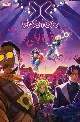 X-FACTOR #8 (JAN210630)  Written by LEAH WILLIAMS   Art by DAVID BALDEÓN   Cover by IVAN SHAVRIN   On Sale 3/10     X-FACTOR #9  Written by LEAH WILLIAMS   Art by DAVID BALDEÓN   Cover by IVAN SHAVRIN   On Sale 5/12