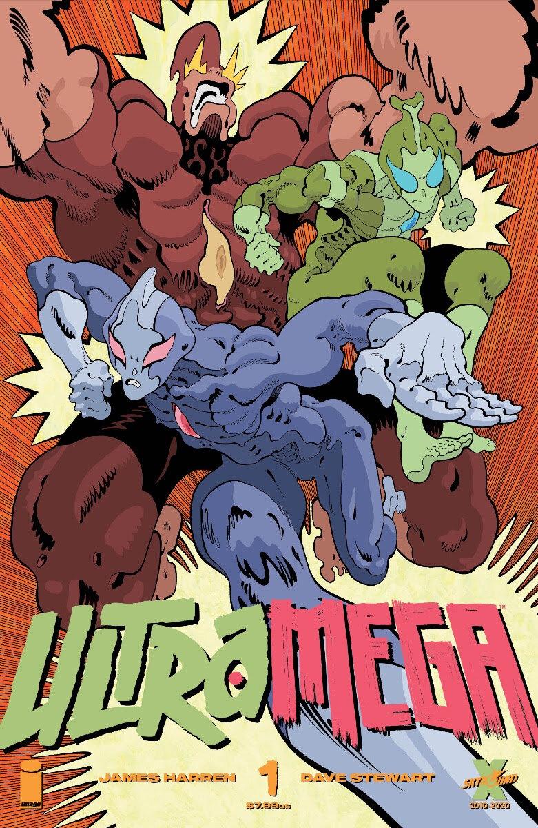 Ultramega By James Harren #1  Cover B by Moore - JAN210039
