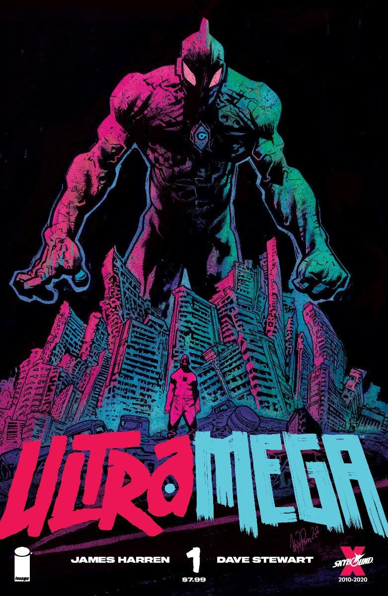Ultramega by James Harren #1  Cover A by Harren - JAN210038
