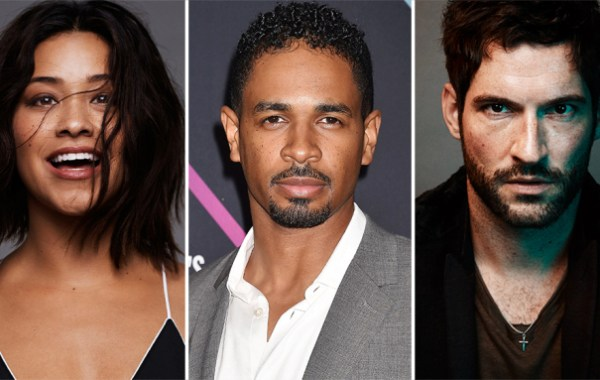 Gina Rodriguez, Damon Wayans Jr., Tom Ellis Players