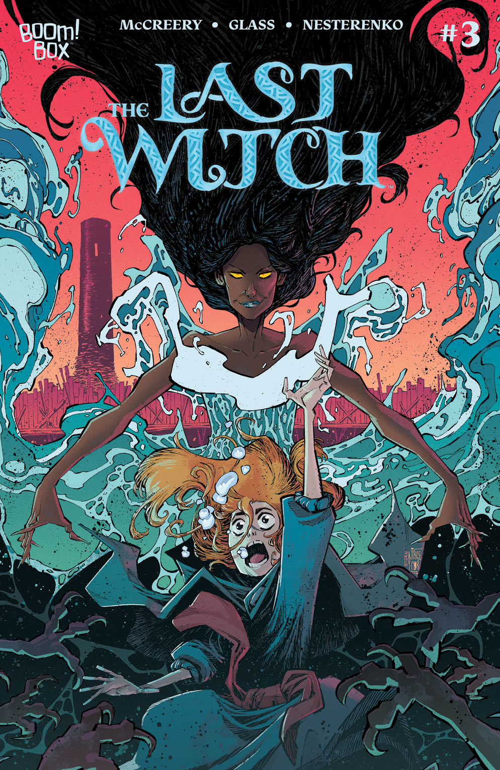 LastWitch 003 Cover B Variant