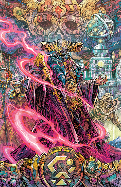 PowerRangers Unlimited EdgeDarkness 001 Cover C VillainIncentive