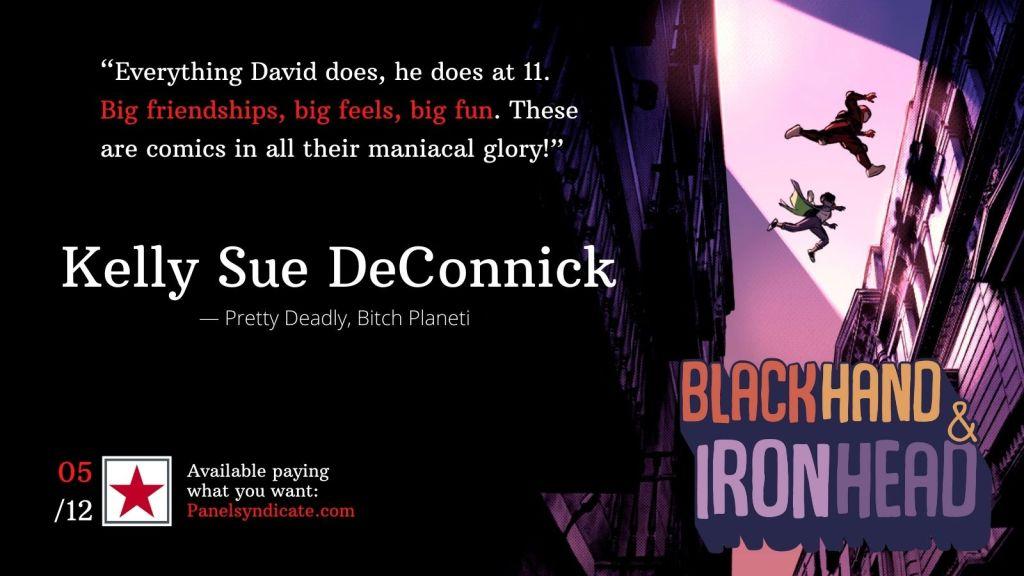 BlackHand & IronHead Volume 2