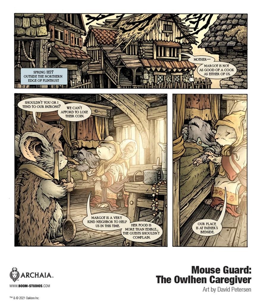 Mouse Gard: The Owlhen Caregiver