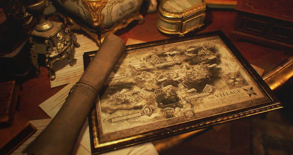 Resident Evil 8 Map Edited