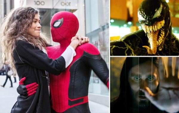 Spider-Man Venom and Morbius