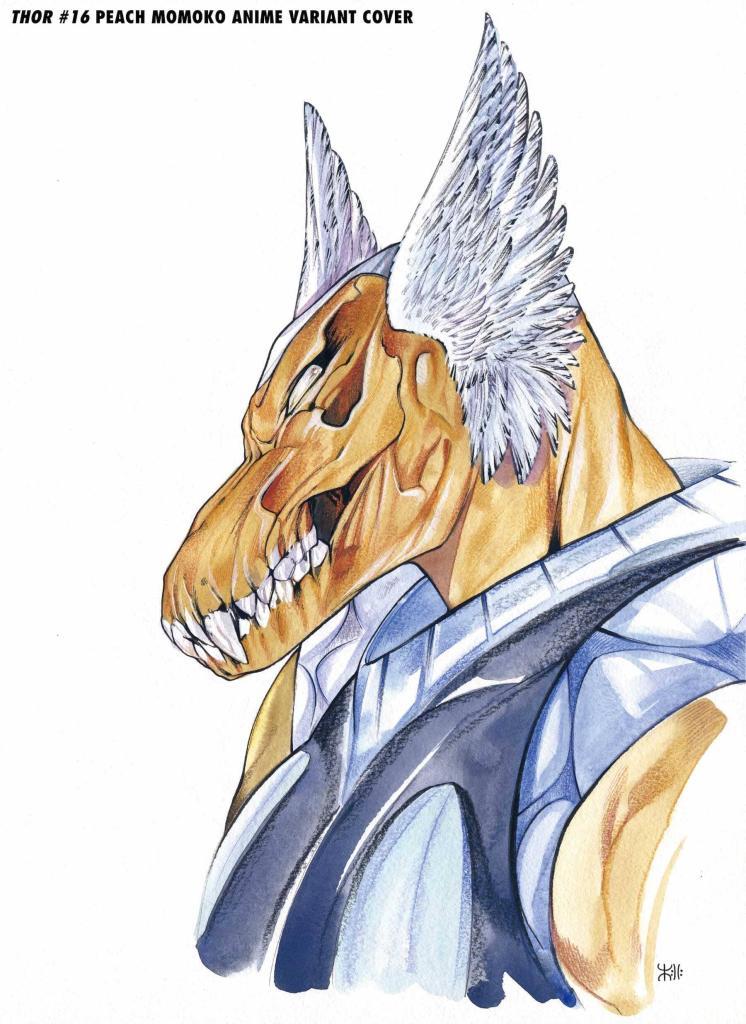 thor2020016 momoko marvel anime variant