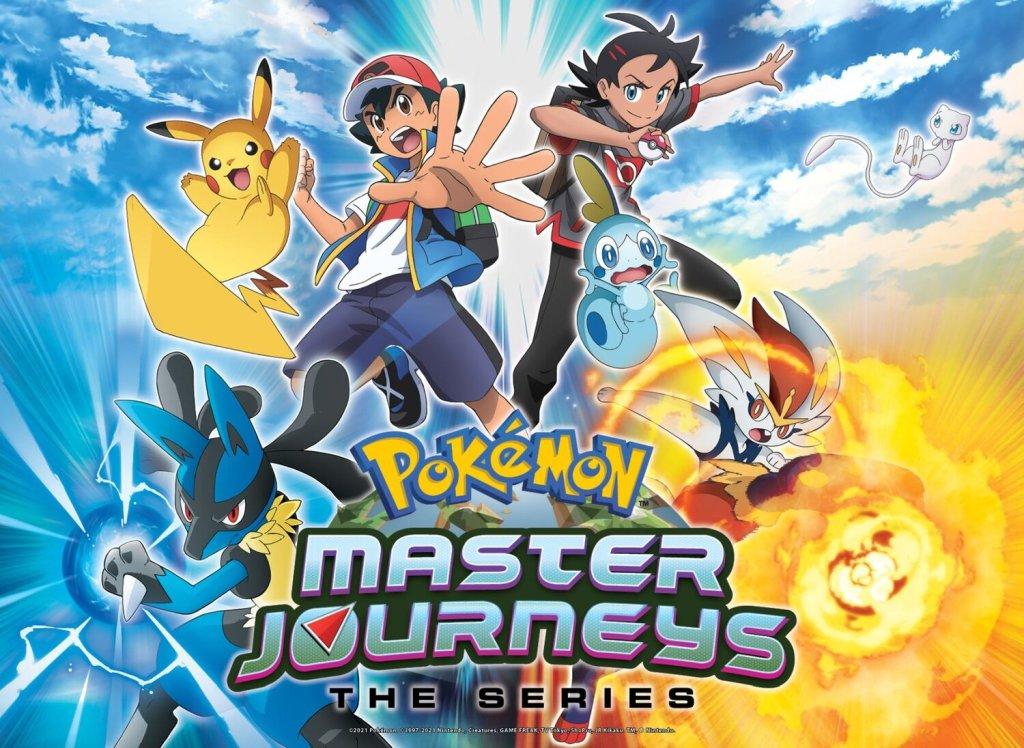 Pokemon Master Journeys The Series Key Art