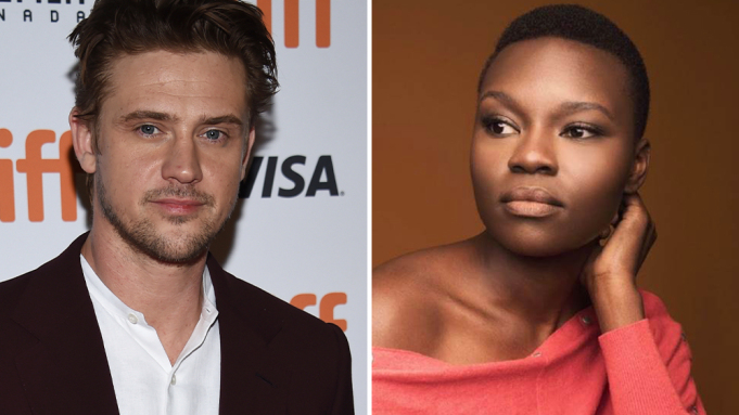 Boyd Holbrook and Shaunette Renee