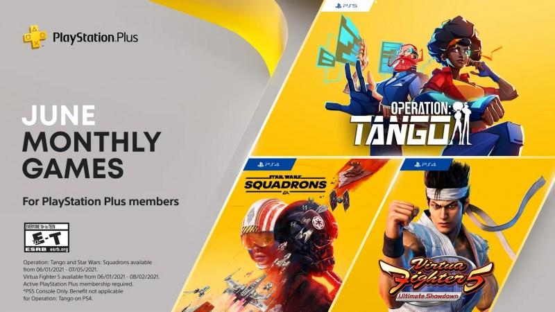 PS Plus free games June 2021