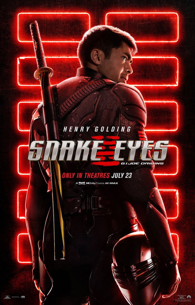 snake eyes origins poster