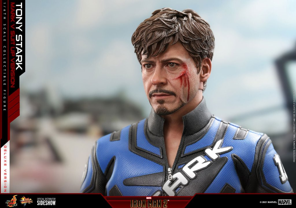 tony stark mark v suit up version deluxe marvel gallery 609caf898a083