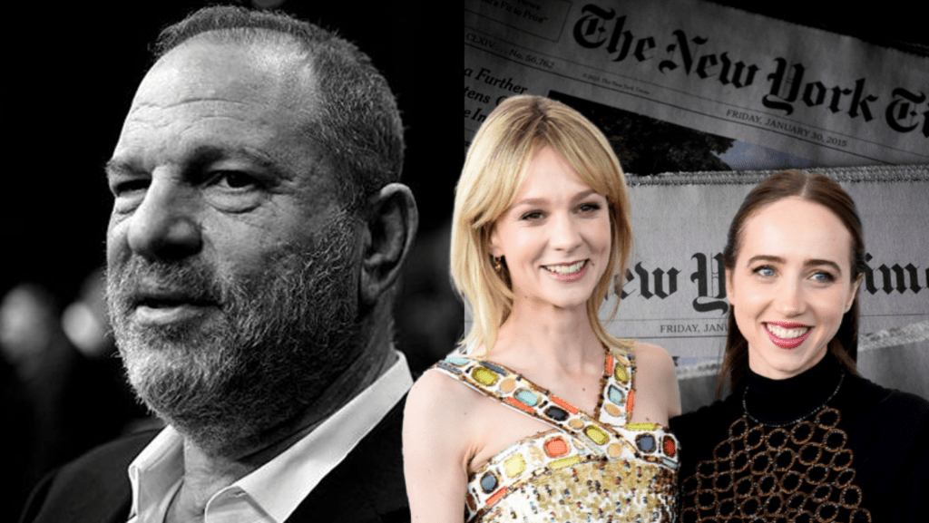 Harvey Weinstein Sex Scandal In She Said Film In The Works With Carey Mulligan And Zoe Kazan To Play New York Times Reporters Who Broke The Story Geek Network 1 Geek