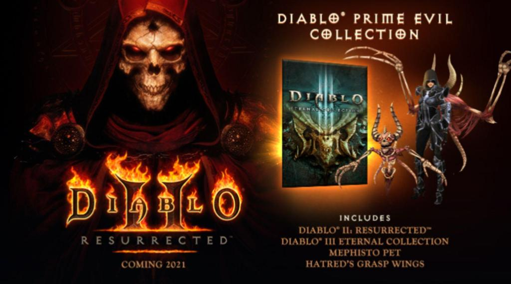 Diablo II Prime Evil Collection