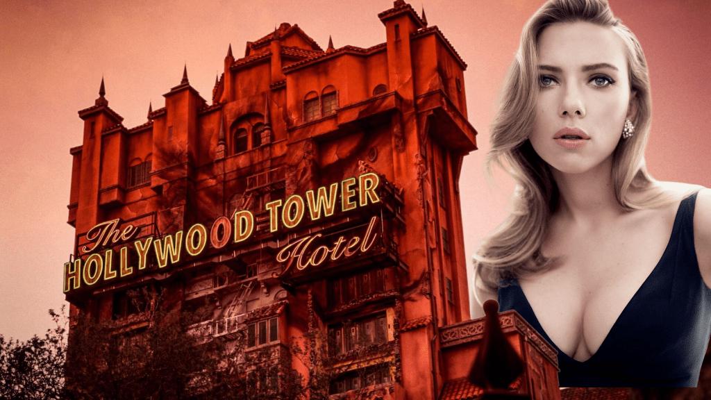 Scarlett Johansson tower of terror movie
