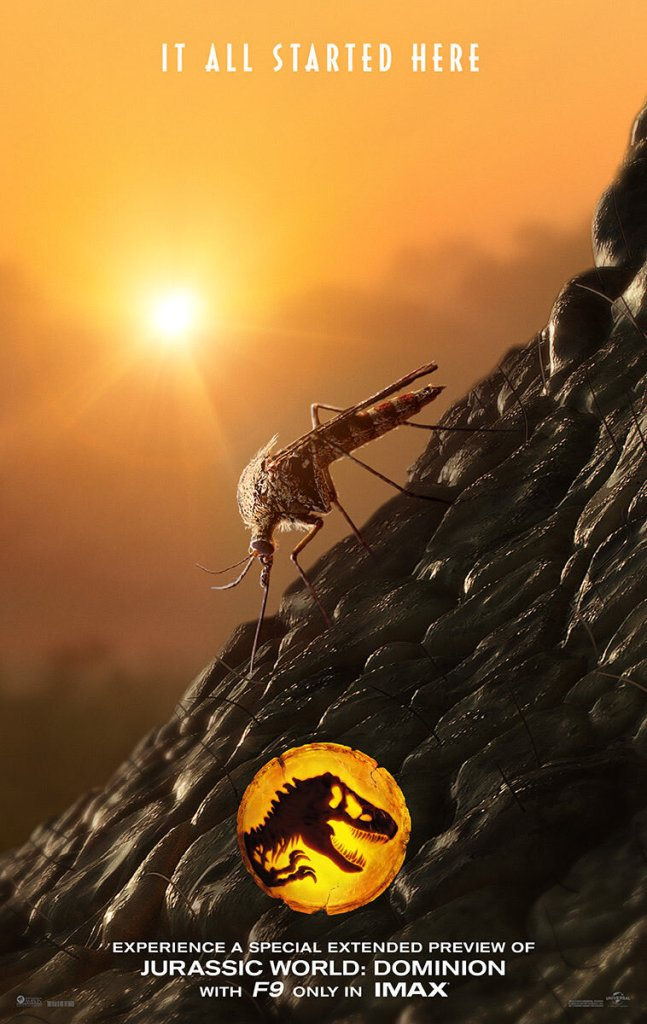 First Poster for JURASSIC WORLD: DOMINION