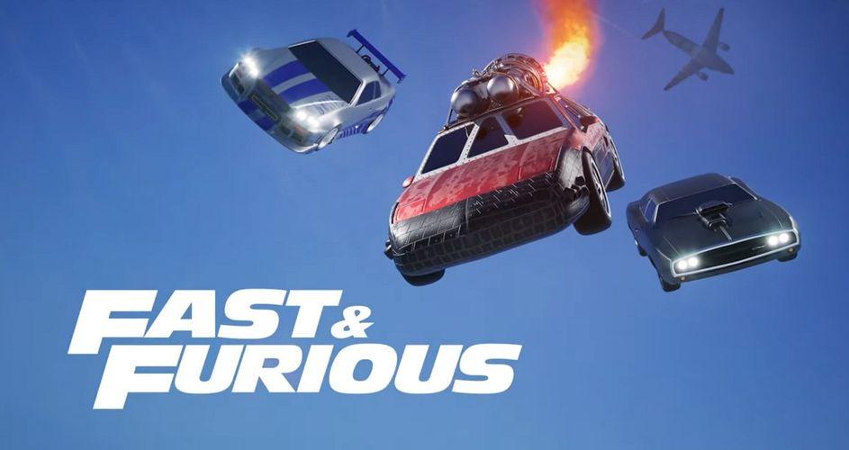 Rocket League Fast & Furious Bundle