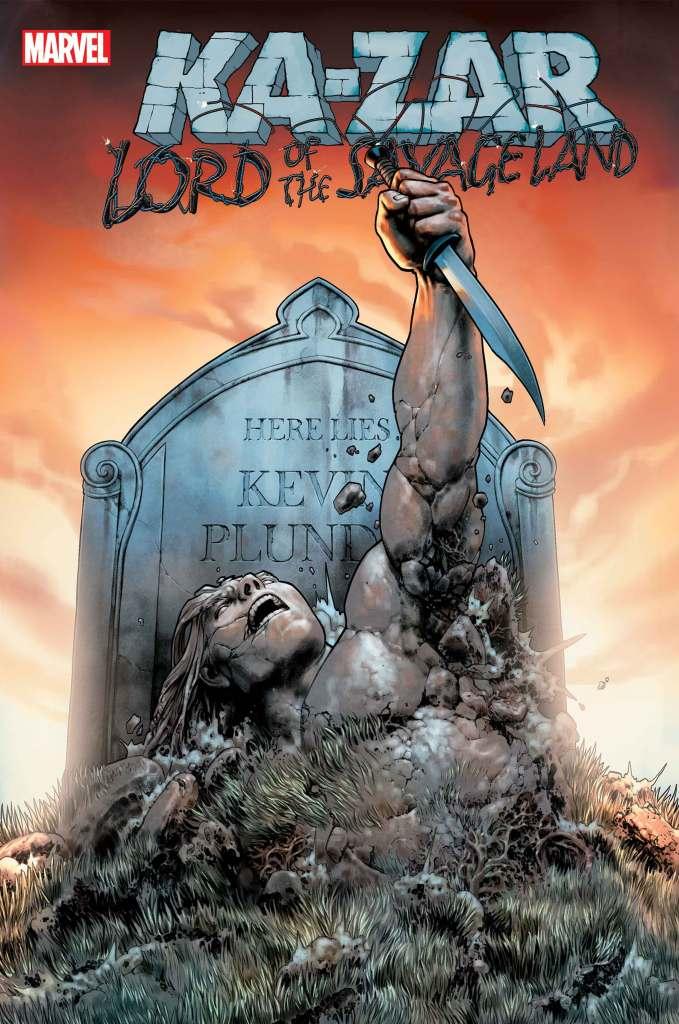 KA-ZAR: LORD OF THE SAVAGE LAND #1