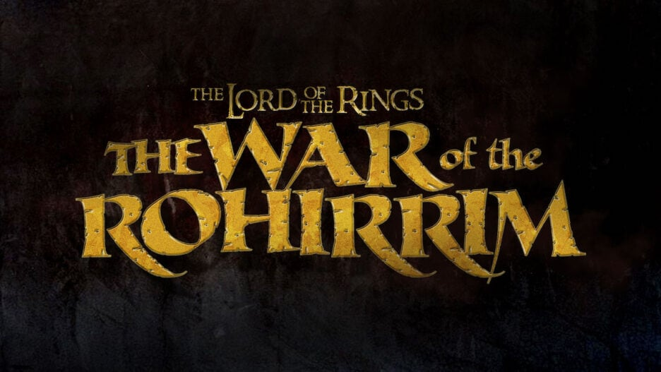 Lord of the Rings The War of the Rohirrim