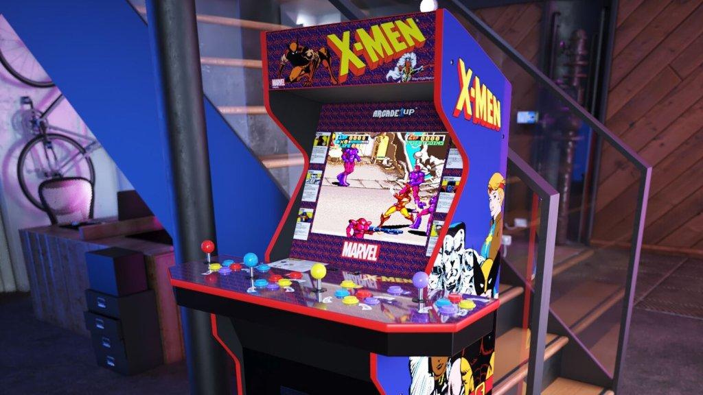 X-Men arcade cabinet