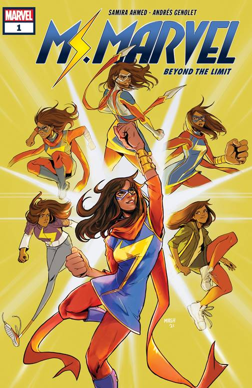 MS. Marvel Beyond the limit #1