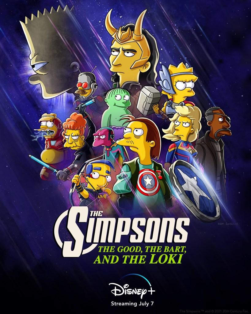 Marvel-themed SIMPSONS Short