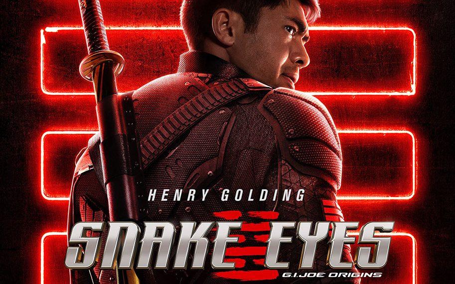Snake Eyes character teaser