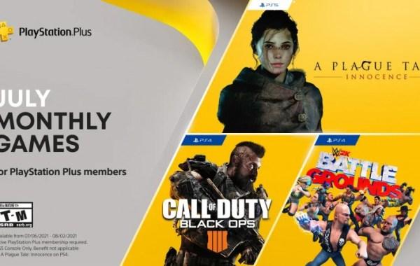 Free PS Plus July 2021