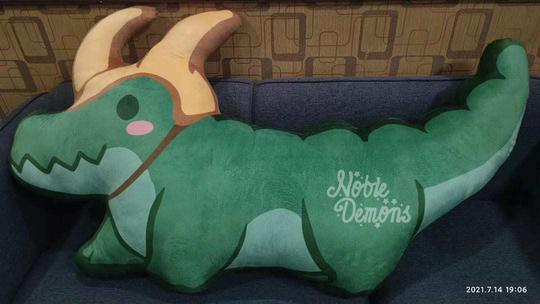 Alligator Loki Body Pillow
