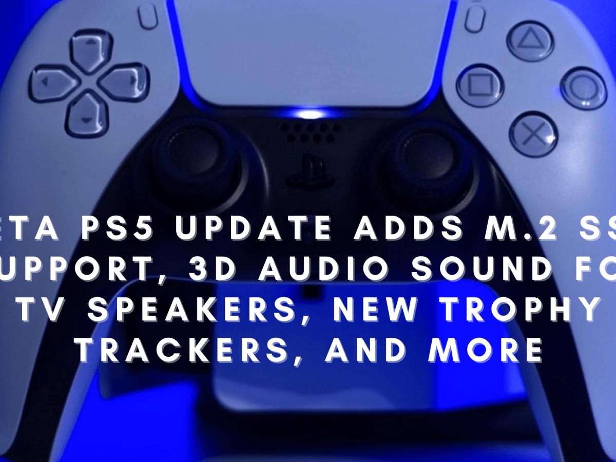 Beta PS5 Update