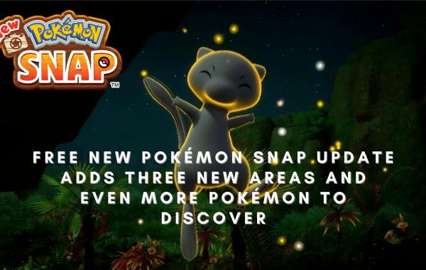 New Pokemon snap free update