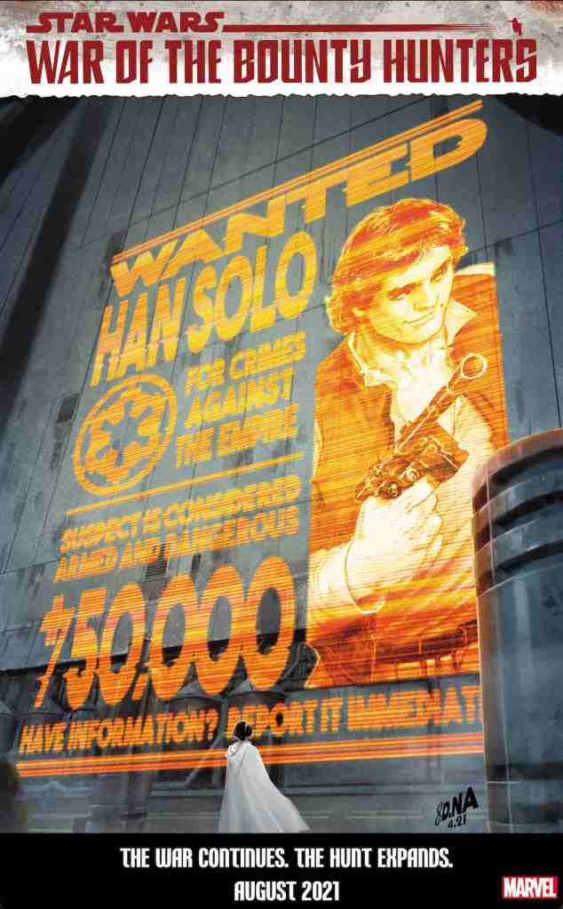 Star Wars 16 WantedPosterVariant 1