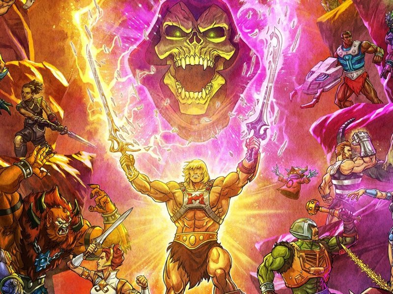 Masters of the Universe Revelation Part 1 Review New Poster Art for MASTERS OF THE UNIVERSE REVELATION