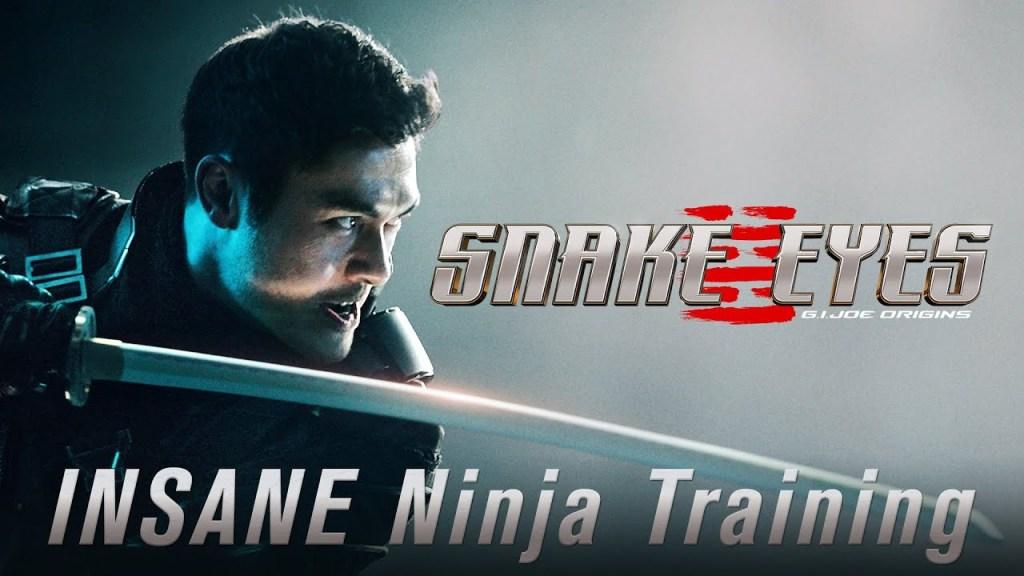 SNAKE EYES Insane Ninja Training Featurette