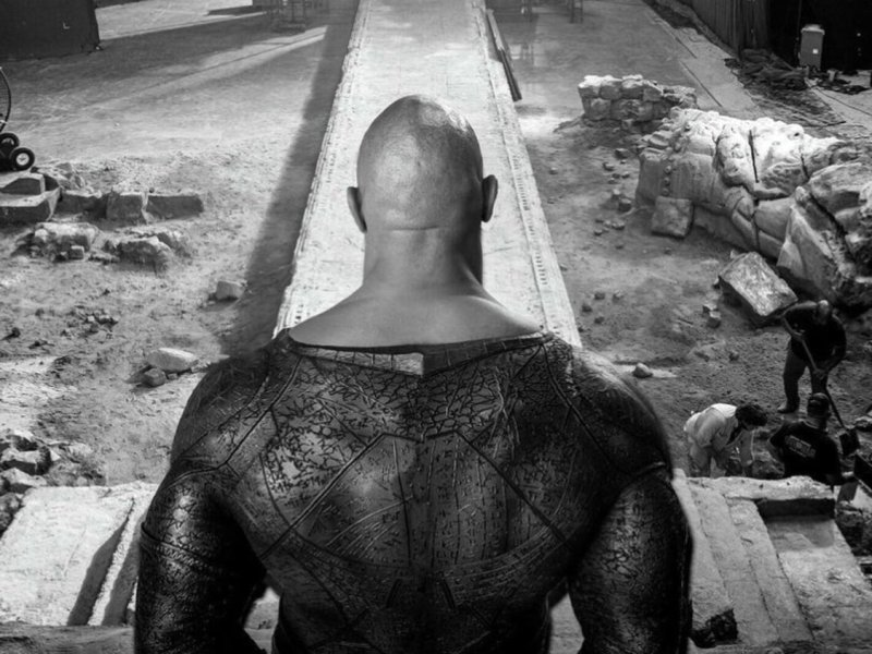 New Technology Was Used in DC Film BLACK ADAM