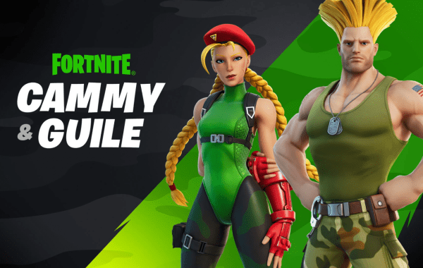 Street Fighter's Cammy and Guile Are Dropping Into Fortnite